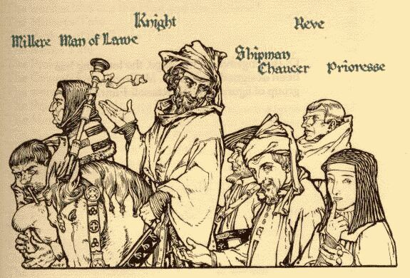 an introduction to the character of the knight in geoffrey chaucers canterbury tales The canterbury tales: a character sketch of chaucer's knight geoffrey chaucer's canterbury tales, written in approximately 1385, is a collection of twenty-four stories ostensibly told by various people who are going on a religious pilgrimage to canterbury cathedral from london, england.